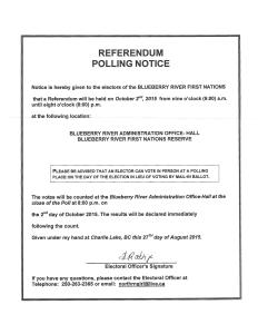 Referendum Notice and Memo 2