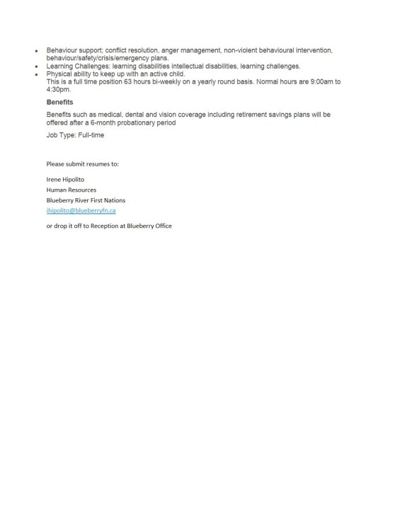 Educational Assistant Posting (002)-2