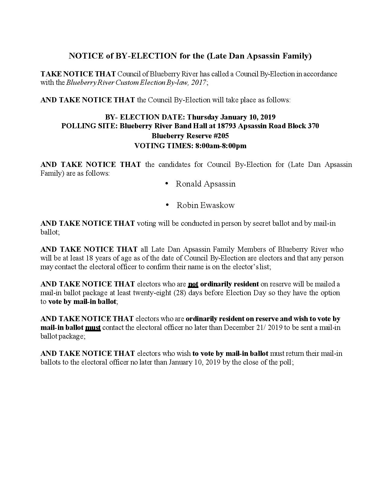 POLLING NOTICE BRFN By-election page-001