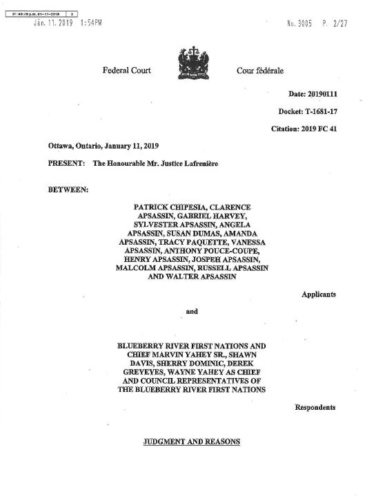 chipesia v. blueberry river first nation 2019 fc 41 (003)-page-002