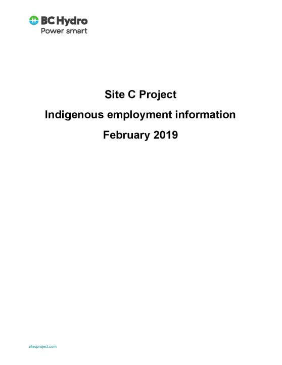 Site C Contractors Indigenous Employment Information_Feb2019-page-001