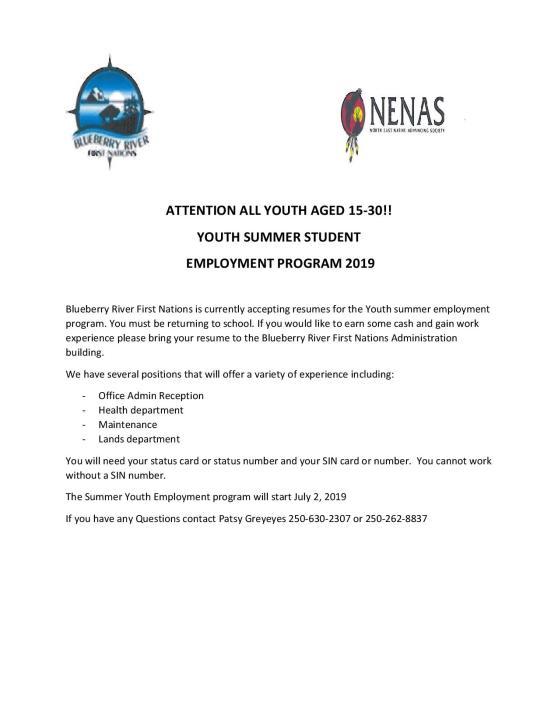 NENAS BRFN SUMMER STUDENT EMPLOYMENT 2019-page-001