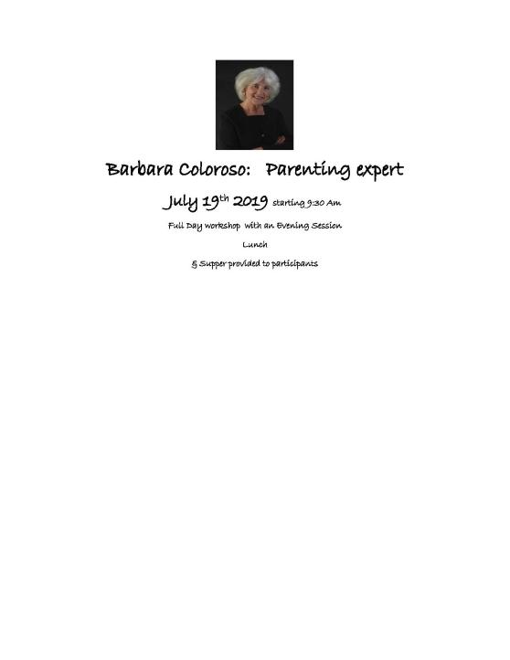 Barbara Coloroso reminder flyer-page-001