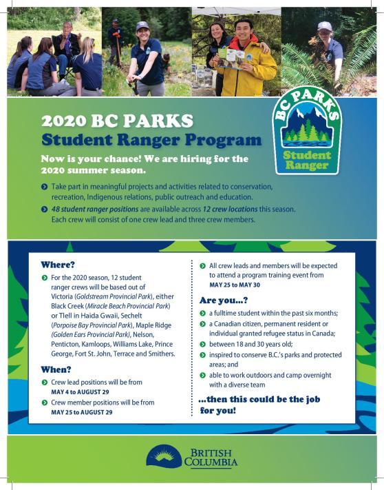 2020 Student Ranger Program Poster-page-001