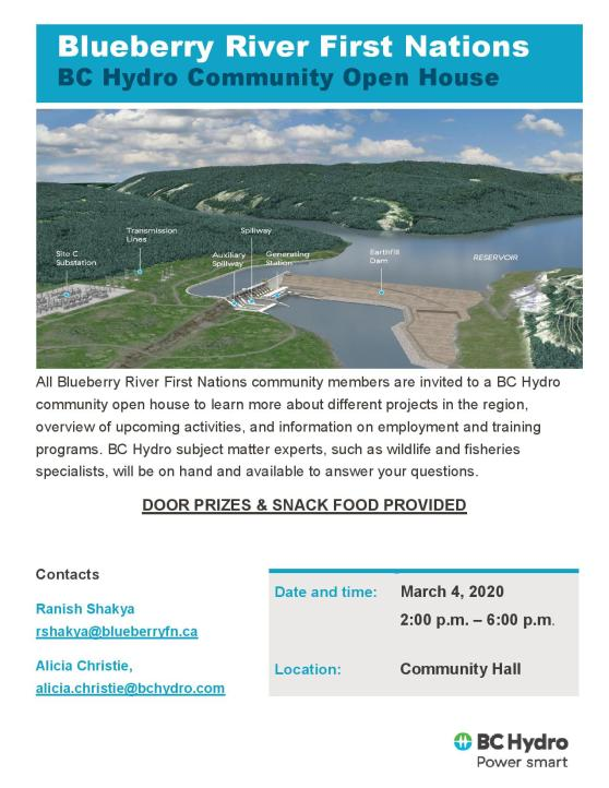 BRFN_Site C Open House-Poster BRFN March 4th-page-001