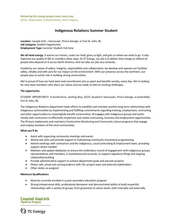 Indigenous Relations Summer Student - 2020-page-001