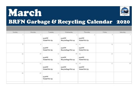 March Waste Recycle Calendar 2020-page-001