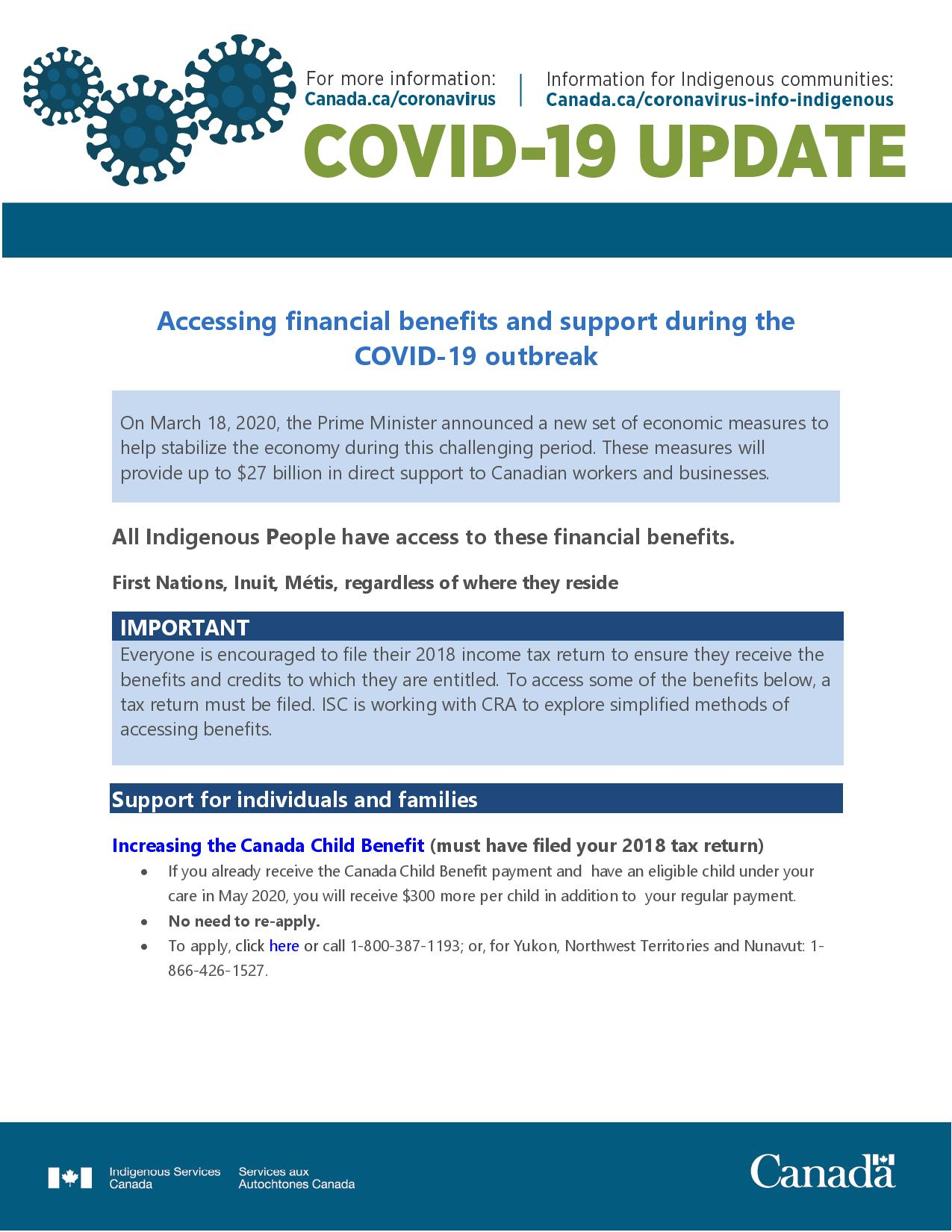 COVID-19 - Accessing financial benefits page-001
