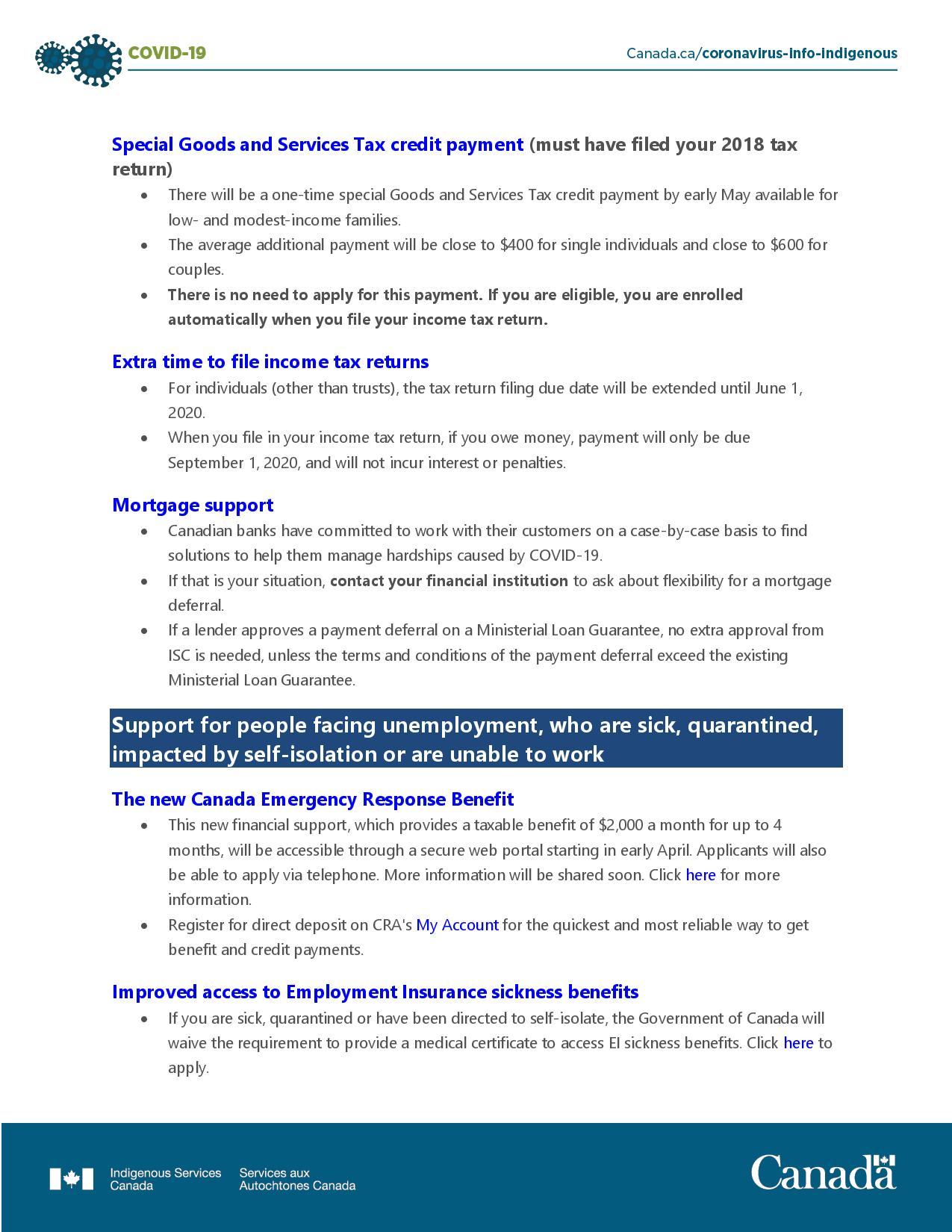 COVID-19 - Accessing financial benefits page-002