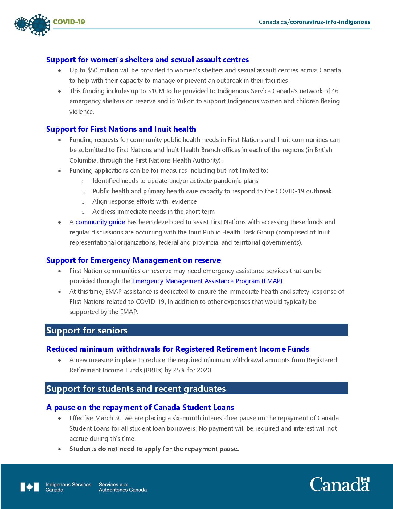 COVID-19 - Accessing financial benefits -page-004