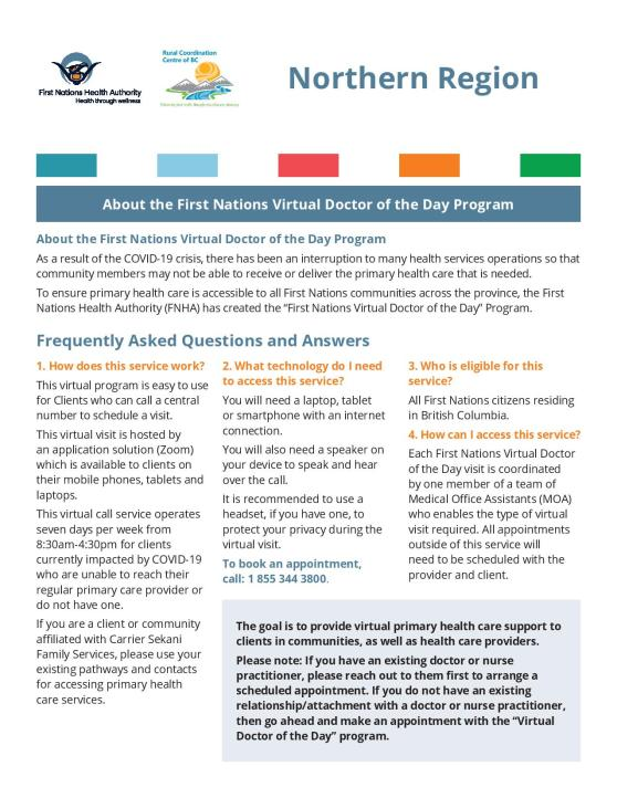FAQ - For Clients - Northern Region - First Nations Virtual Doctor of t.._-page-001